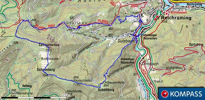 Schneeberg 1244m sonnkogel hohe dirn 1134m for Goldene hohe schneeberg